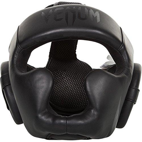 Venum Erwachsene Kopfschutz Challenger 2.0, Schwarz/Matt, One Size
