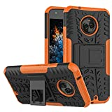 MRSTER Moto X4 Hülle, Outdoor Hard Cover Heavy Duty Dual