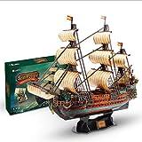 CCCYT DIY 3D Puzzles San Felipe Juguetes Velero Kits de Modelos Decoración De Mobiliario Exquisita, Adecuado para La Colección (248Pcs)