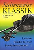 Saitenweise Klassik, Band 1 - 2 Violins, Viola and Cello - Set
