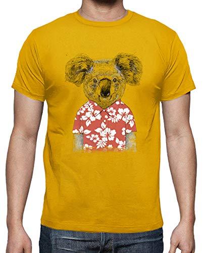 latostadora - Camiseta Koala de Verano para Hombre