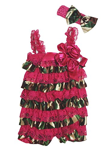 Petitebelle - Combinaison - Bébé (Fille) 0 à 24 Mois Rouge Red Taille Unique - Rouge - S
