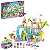 LEGO Friends Heartlake City Friends Parque Acuático Fun Set de Juego con Mini Muñecas Stephanie, Emma y Olivia, Juguetes Serie Summer Holiday, multicolor (Lego ES 41430)