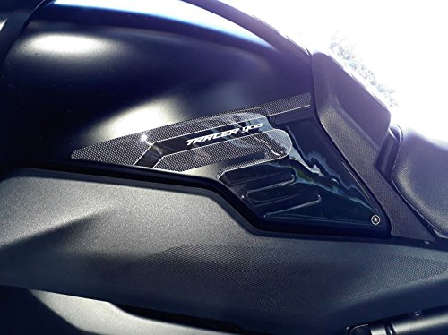 2 Adhesive Tank Side Protection kompatibel Motorrad Yamaha Tracer 900 2018-2020