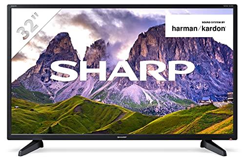 Sharp 32CB2E - TV 32 Pulgadas 32' (resolución 1368 x 720, 3X HDMI, 2X USB) Color Negro