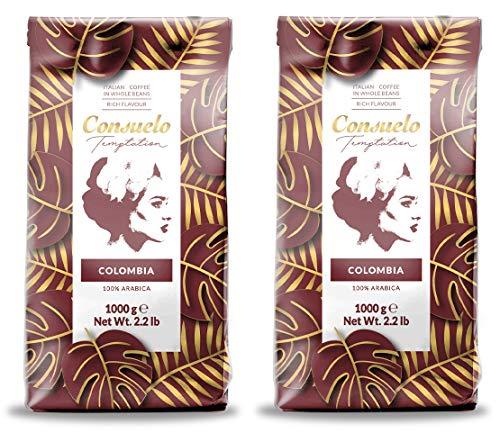 Kaffee in ganzen Bohnen, Consuelo Colombia - 2x1kg