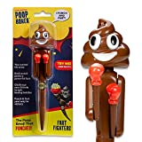 Poop Boxer - Punching/Farting/Boxing Pen - Poop Emoji Poop Toy - Real Fighting & Fart Sounds – Control the...