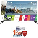 LG 60-inch Super UHD 4K HDR Smart LED TV 2017 Model (60UJ7700) with Additional 1 Year Extended Warranty