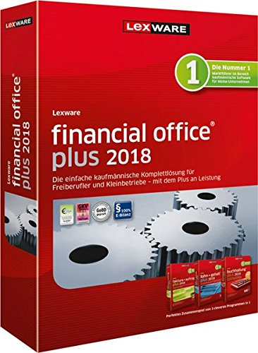 LEXWARE financial office plus 2018 Jahresversion 365-Tage