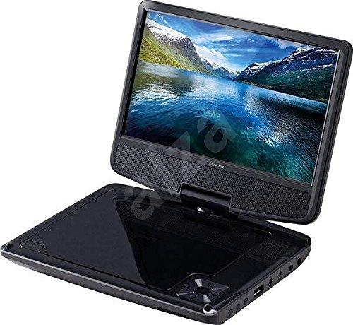 Sencor SPV 2920 BLACK lettore DVD/Blu-Ray portatile Portable DVD player Da tavolo Nero 22,9 cm (9') 800 x 480 Pixel