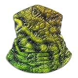 Alien Skin Fleece Neck Warmer Men - Polaina de cuello a prueba de viento Mascarilla facial para clima frío - Bufanda facial para actividades de invierno al aire libre