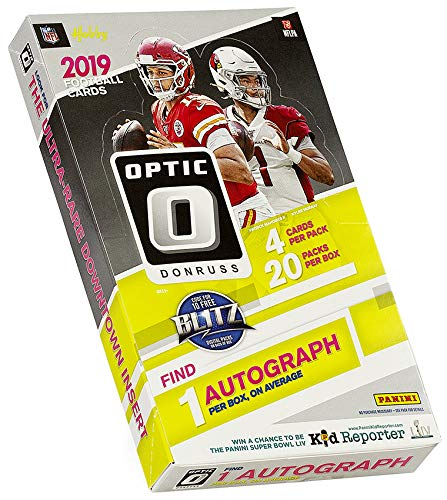 2019 Panini Donruss Optic NFL Football HOBBY box