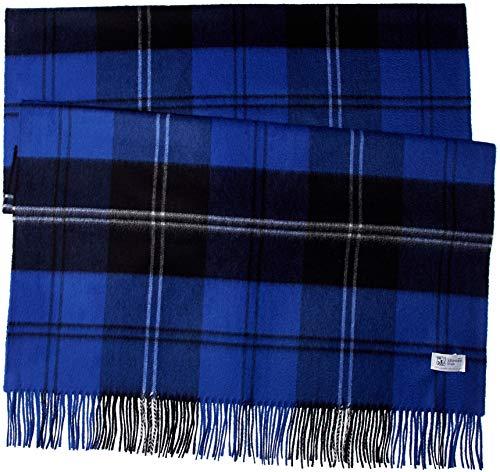 [ジョンストンズ] 【公式】カシミヤストール WA56 レディース Ramsey Blue Heritage(日本限定色) UK 190cm x 70cm (FREE サイズ)