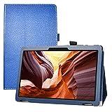 LFDZ Winnovo T10 MTK MT8163,Soporte Cuero con Slim PU Funda Caso Case para 10' Winnovo T10 MTK MT8163 Tablet,Azul
