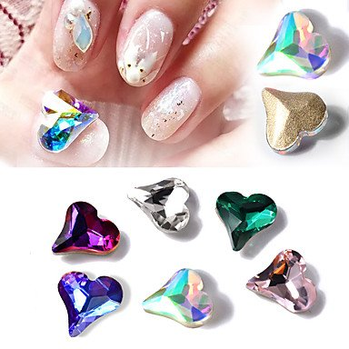 MZP 10 Manucure Dé oration strass Perles Maquillage cosmétique Nail Art Design , 5#