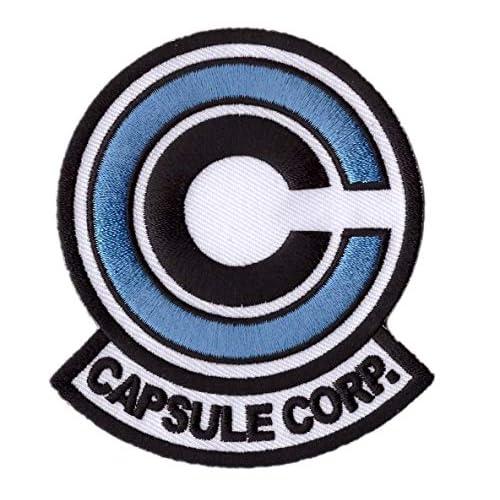 Titan One Europe - Blue Capsule Corp. Dragon Z Cosplay Toppa Ricamata Termoadesiva