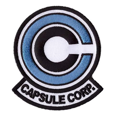 Titan One Europe - Capsule Corp. Anime Cosplay Aufnäher Aufbügler (Blau)