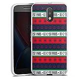 DeinDesign Motorola Moto G4 Plus Coque en Silicone Étui Silicone Coque Souple PSG Paris...