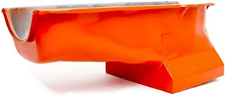 Racing Power Company R9726 Orange Drag Race Oil Pan for Small Block Chevy