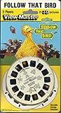 Sesame Street Follow That Bird View-Master 3D 3 Reel Set