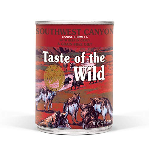 Taste of the Wild Grain-Free Real Meat Recipe Premium Wet Canned Stew Dog Food