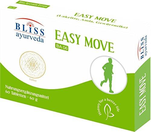 Bliss Ayurveda Integratore Alimentare Easy Move, 60 Compresse
