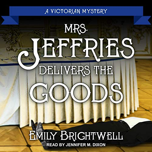 Mrs. Jeffries Delivers the Goods  By  cover art