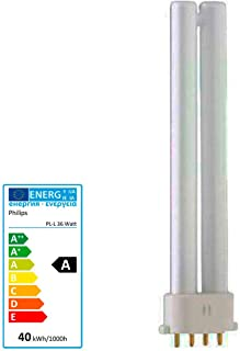 A Osram Lampada fluorescente compatta Dulux L 827/2/g11warm 55/W classe di efficienza energetica