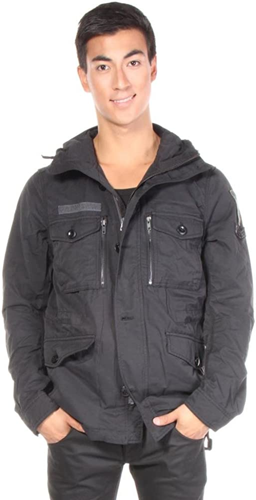 DIESEL Men's W-Tapi Parka With Removable Lining