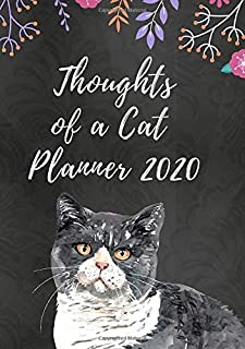 Thoughts of a Cat Planner 2020: Weekly Planner with