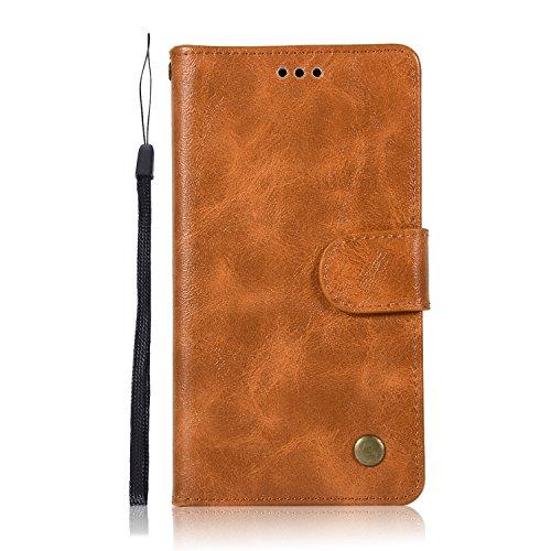 Sunrive Hülle Für Lenovo Moto G4 Play, Magnetisch Schaltfläche Ledertasche Schutzhülle Etui Leder Hülle Cover Handyhülle Schalen Handy Tasche Lederhülle(N-Schwarz)+Gratis Eingabestift