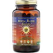 Healthforce Nopal Blood Sugar, Prickly Pear Cactus in 180 Vegan Capsules
