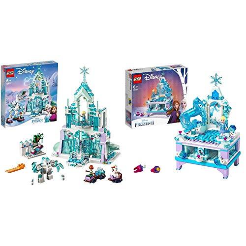 Lego Disney&Nbsp;Princess Il&Nbsp;Magico&Nbsp;Castello&Nbsp & Disney&Nbsp;Frozen&Nbsp;Ii Il&Nbsp;Portagioielli&Nbsp;Di&Nbsp;Elsa Con Mini-Doll Della Principessa Elsa E Figura Di Nokk