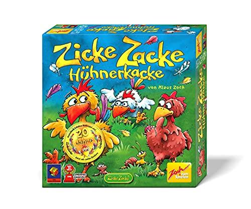 Zoch 601121800 Zicke Zacke Hühnerkacke,...