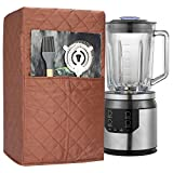 Blender Cover, Dust-proof Organizer Quilted Blender Cover Kitchen Mixer Protector, Anti Fingerprint Mixer Covers,Year Around Protection CYFC431