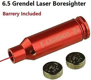 GOTICAL 6.5 Grendel Laser Bore Sighter Boresighter for AR15 Grendel, Aluminum Red Finish Boresighter
