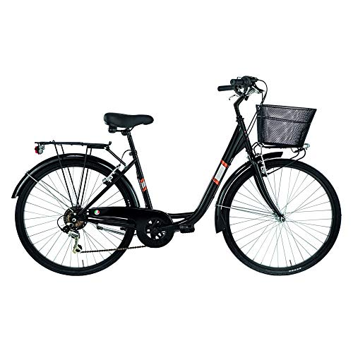 Alpina Bike Venere, Bicicletta da Città Donna, Nero, 26
