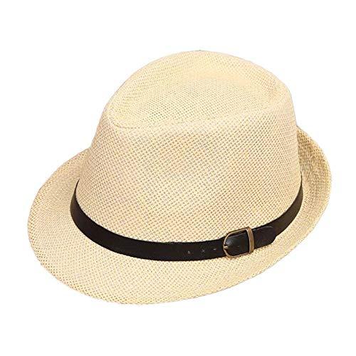 Color Sólido Niño Adulto Verano Sombrero Sol Gorra para El De Playa...