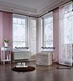 Flächenvorhang 'Sylt'- creme-60 cm Meterware (ohne abgebildetes Stangenmaterial)