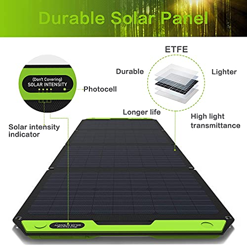 Tp-solar 120W Foldable Solar Panel Battery Charger Kit for Portable Generator Power Station