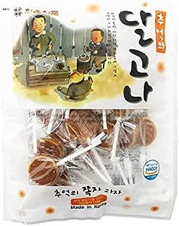 Dalgona Korean sugar straw candy 250gram 달고나