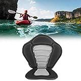 Kadimendium Sedile per Kayak Sedile per Canoa Sedile Staccabile per Kayak Schienale Alto, con Quattro moschettoni