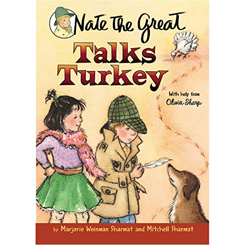Nate the Great Talks Turkey cover art