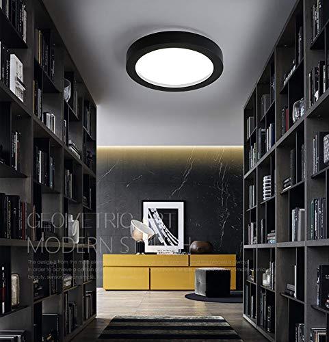 MIEMIE 24W LED Deckenleuchte,Einstellbare Lichtquelle 3000-6000K Wohnzimmerlampe Küchenleuchte Deckenbeleuchtung Panel Lüster Ultraslim Schlafzimmer Esszimmer Energiesparend [Energieklasse A++]