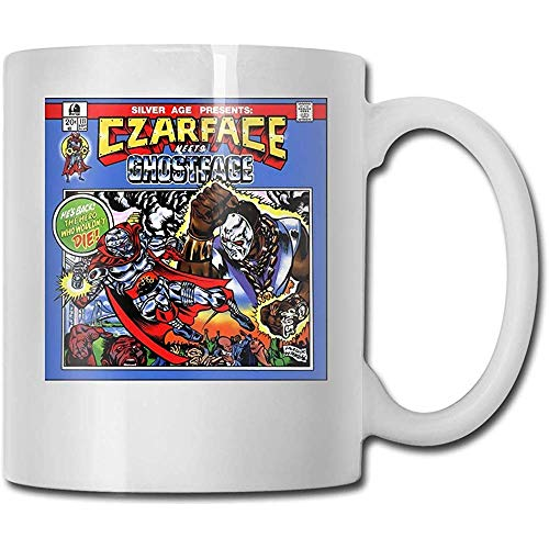 Czarface Meets Ghostface Coffee Mug Ceramic Cup Gift for Men and Women Who Love Mug