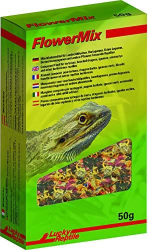 Lucky Reptile Flower Mix 50 g, Blütenmischung für Reptilien und andere Tiere