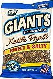 GIANTS Kettle Roast Salty Sweet Flavored Sunflower Seeds, 12 packs - 5 oz