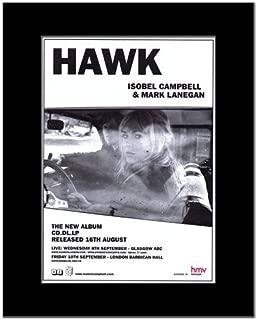 Music Ad World Isobel Campbell - Mark Lanegan - Hawk Mini Poster - 28.5x21cm