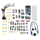 JCCOZ -URG DIY Mega 2560 R3 HC-SR04 - Kit de sensor 37 en 1 para Arduino - productos que funcionan con placas Arduino URG