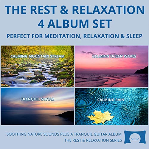 Relaxing Nature Sounds 4 CD Set - for Meditation, Relaxation and Sleep - Nature